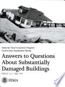Answers to Questions About Substantially Damaged Buildings