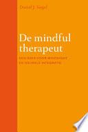 De mindful therapeut