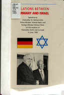 Relations between Germany and Israel