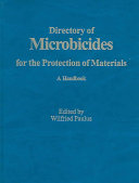 Directory of Microbicides for the Protection of Materials