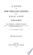 New England Legends and Folk Lore