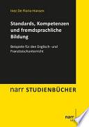 Standards  Kompetenzen und fremdsprachliche Bildung