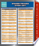 Spanish Phrases  Everyday  Speedy Study Guides