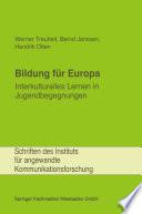Bildung für Europa