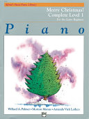 Alfred's Basic Piano Course: Merry Christmas! Complete Book 1 (1A/1B)