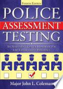 Police Assessment Testing