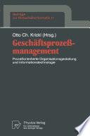 Geschäftsprozeßmanagement