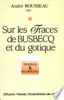 Sur les traces de Busbecq et du gotique
