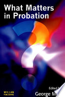 What Matters In Probation