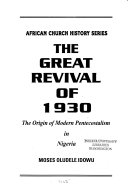 The Great Revival of 1930
