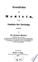 Geschichte der Medicin