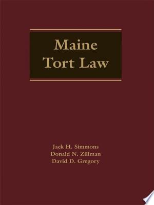Maine Tort Law - ISBN:9780327183013