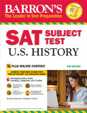 Barron's SAT Subject Test U.S. History: with Bonus Online Tests