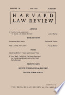 Harvard Law Review: Volume 130, Number 7 - May 2017