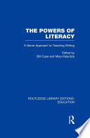 The Powers of Literacy  RLE Edu I