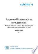 Approved Preservatives for Cosmetics