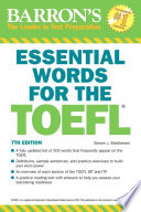 Essential Words for the TOEFL  7th edition
