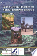 Good Statistical Practice for Natural Resources Research