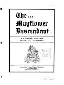 The Mayflower Descendant