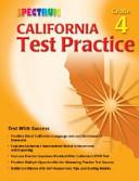 Spectrum California Test Practice  Grade 4