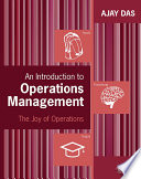 An Introduction to Operations Management