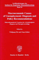 Macroeconomic Causes of Unemployment