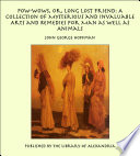 Pow Wows  Or  Long Lost Friend  A Collection of Mysterious and Invaluable Arts and Remedies for Man as Well as Animals Book PDF