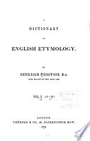 Dictionary of English Etymology