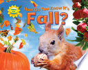 how do you know it s fall