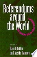 Referendums Around The World book