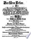 Biblia pentapla, das ist: die Bücher der heiligen Schrift ... nach fünffacher deutscher Verdolmetschung durch Caspar Ulenberg, Martin Luther, Johann Piscator, Joseph Athiae, Johann Henrich Reitzen etc