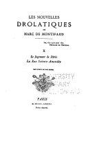 Les nouvelles drolatiques de Marc de Montifaud ...: Le jugement de Paris