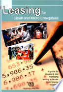 Leasing For Small And Micro Enterprises
