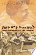 Dear Mrs  Roosevelt