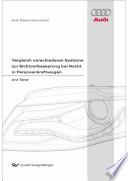 Vergleich verschiedener Systeme zur Sichtverbesserung bei Nacht in Personenkraftwagen