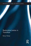 Restorative Justice in Transition