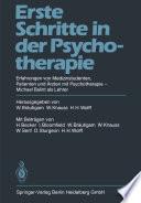 Erste Schritte in der Psychotherapie