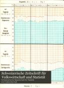 Schweizerische Zeitschrift für Volkswirtschaft und Statistik
