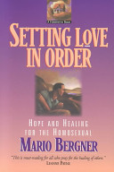 Setting Love in Order