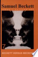 Beckett Versus Beckett