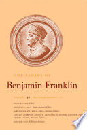 The Papers of Benjamin Franklin  Vol  40