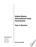 United States International Trade Commission 2010 Year In Review