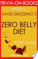 Zero Belly Diet  By David Zinczenko  Trivia On Books