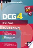 Dcg 4 Droit Fiscal Manuel Et Applications 10e Dition Mill Sime 2016 2017