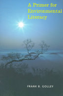A Primer for Environmental Literacy That Can Be Understood By Those