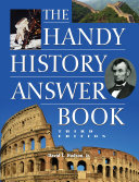 download ebook the handy history answer book pdf epub