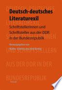 Deutsch deutsches Literaturexil