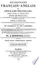Dictionnaire français-anglais et anglais-français ...