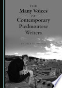 The Many Voices of Contemporary Piedmontese Writers