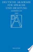 Jahrbuch der Deutschen Akademie für Sprache und Dichtung Darmstadt